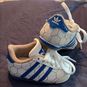 Adidas baby soccer sneakers